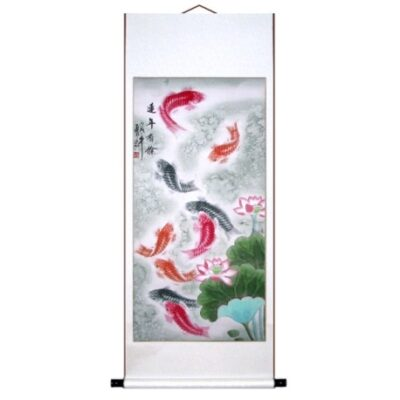Wall Art Scroll Mounting Service